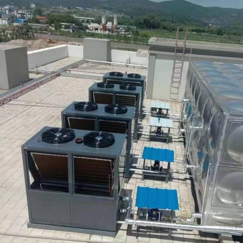 宾馆500管太阳能15p空气能热泵