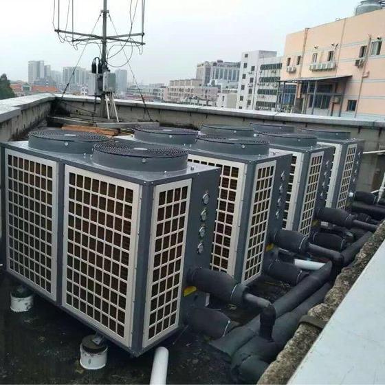 官渡区空气能热泵热水工程案例