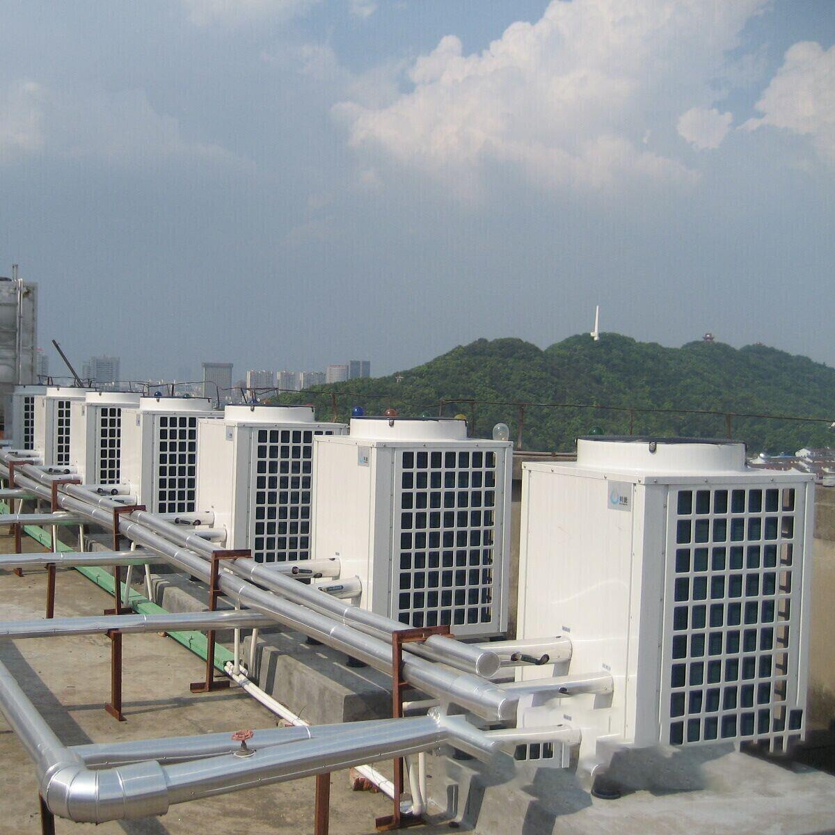 乔家空气能热泵热水工程