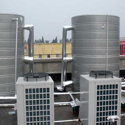安顺10吨空气能热泵热水工程案例