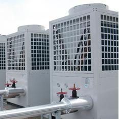 昆明职业学院空气能热泵集中供热项